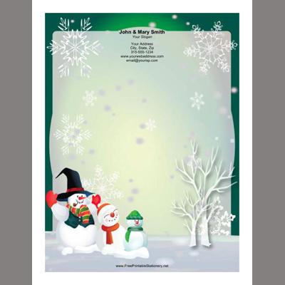Free Printable Christmas Flyers