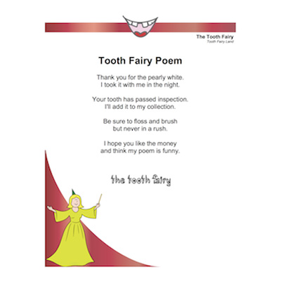 Printable Letters From The Tooth Fairy